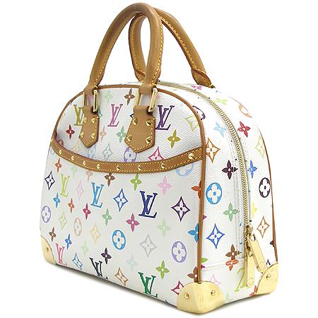Louis Vuitton(루이비통) M92663 모노그램 멀티 컬러 화이트 트루빌 토트백 이미지3 - 고이비토 중고명품