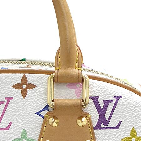 Louis Vuitton(루이비통) M92663 모노그램 멀티 컬러 화이트 트루빌 토트백 이미지4 - 고이비토 중고명품
