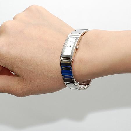 FURLA(훌라) 스퀘어 스틸 여성용 시계 이미지6 - 고이비토 중고명품