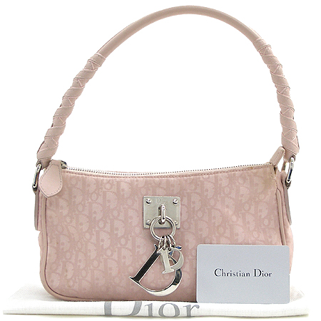 Dior(크리스챤디올) NLC441600 로고 장식 패브릭 파우치 숄더백 이미지2 - 고이비토 중고명품