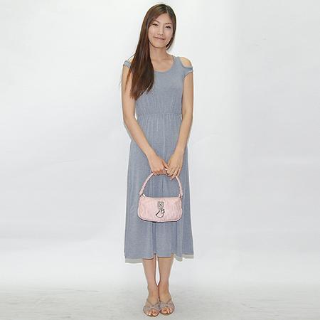 Dior(크리스챤디올) NLC441600 로고 장식 패브릭 파우치 숄더백