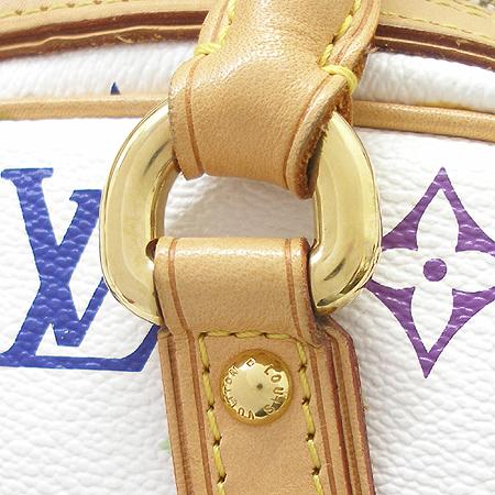 Louis Vuitton(루이비통) M40096 모노그램 멀티컬러 화이트 프리실라 토트백