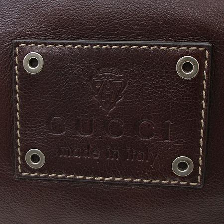 Gucci(구찌) 189680 버건디 레더 빅 토트백 + 숄더 스트랩