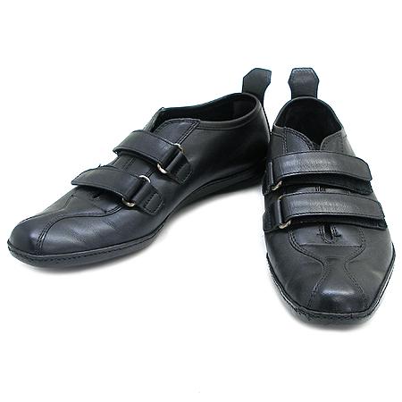 Prada(프라다) 블랙 래더 스니커즈