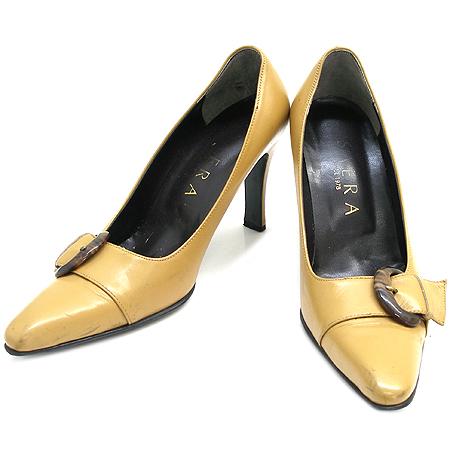 SAERA(세라) 카멜 색상 벨트장식 여성용 구두
