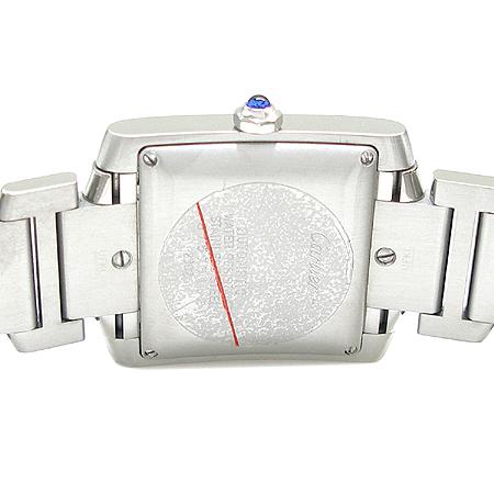 Cartier(까르띠에) W51002Q3 탱크 스틸 L사이즈 오토매틱 남성용 시계
