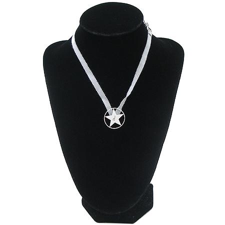 Dior(크리스챤디올) D20097 별 장식 로고 펜던트 목걸이