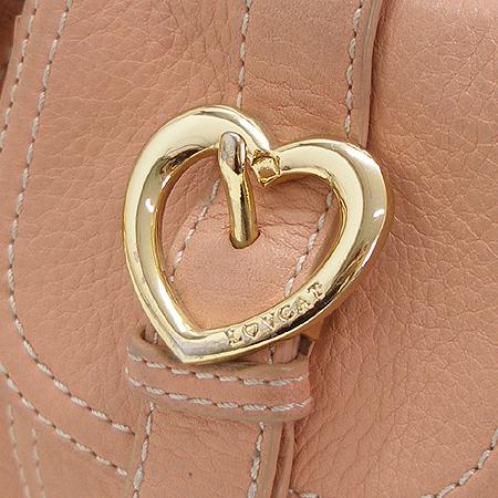 LOVCAT(러브캣) 투포켓 핑크 래더 숄더백 이미지3 - 고이비토 중고명품