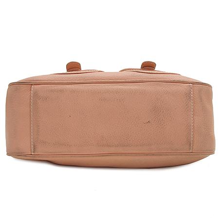 LOVCAT(러브캣) 투포켓 핑크 래더 숄더백