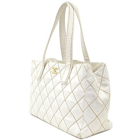 Chanel(샤넬) A20999 금장 로고 와일드 스티치 토트백 + 보조 파우치