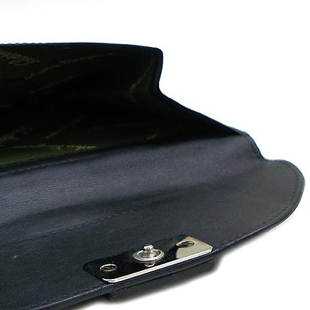 Ferragamo(페라가모) 22 5787 블랙 래더 중지갑
