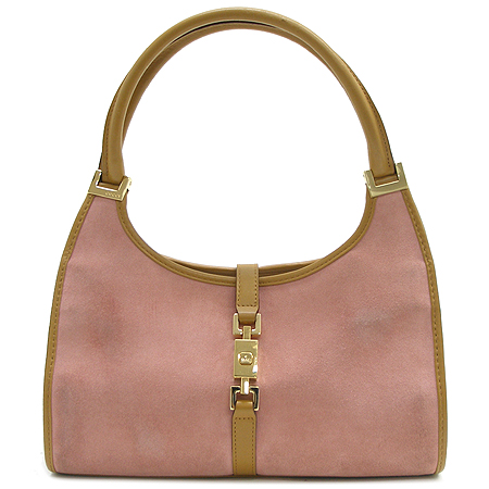 Gucci(구찌) 002 1068 핑크 스웨이드 숄더백