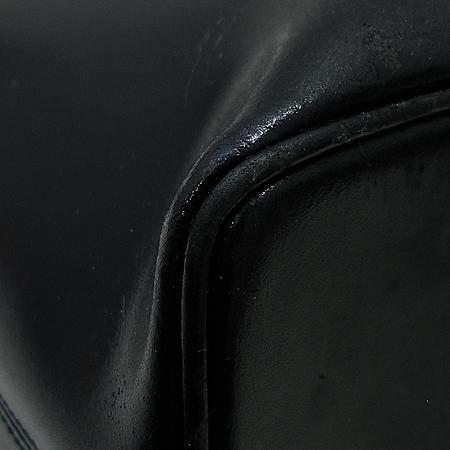 A.testoni(테스토니) 블랙 래더 토트백
