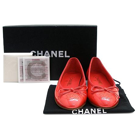 Chanel(샤넬) COCO 로고 페이던트 발레리나 플랫 슈즈