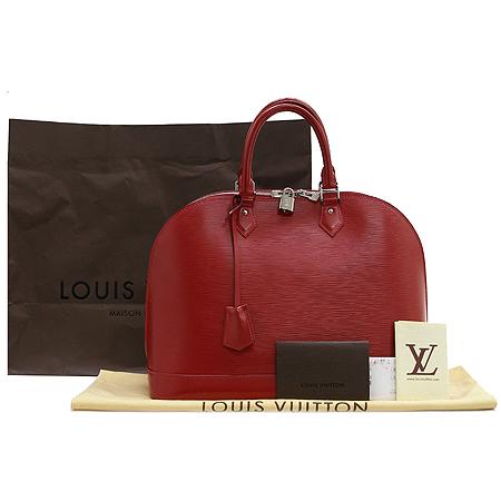 Louis Vuitton(루이비통) M4032E 에삐 레드 카민 알마GM 토트백 [부산센텀본점] 이미지2 - 고이비토 중고명품