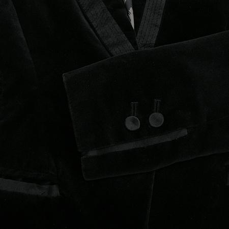 Sisley(시슬리) 벨벳자켓 (배색 실크 100)