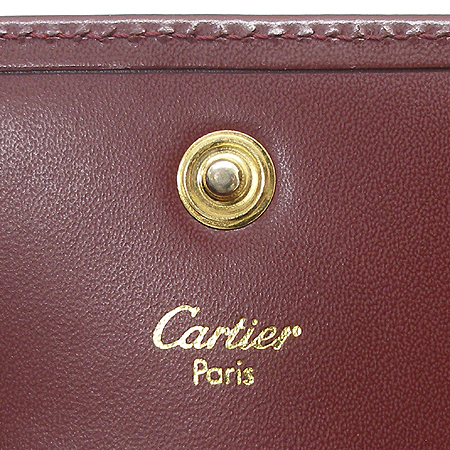 Cartier(까르띠에) 루비 라인 동전 지갑