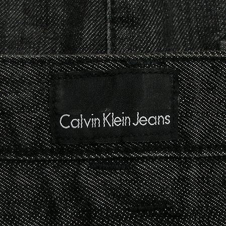 Calvin Klein(캘빈클라인) 블랙진 스커트