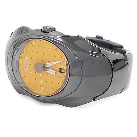 OAKLEY(오클리) TIME  BOMB 오토메틱 시스루백케이스 메탈 시계