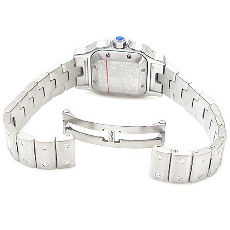 Cartier(까르띠에) W20044D6 산토스 밀레니엄 기념 입체판 오토매틱 스틸 여성용 시계 [명동매장]