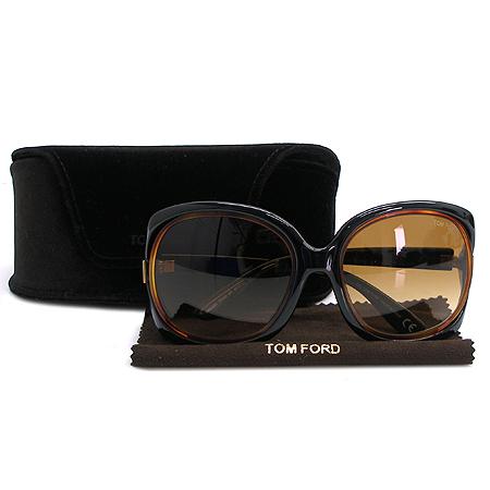 TOMFORD(톰포드) TF100 측면 장식 뿔테 선글라스 이미지2 - 고이비토 중고명품