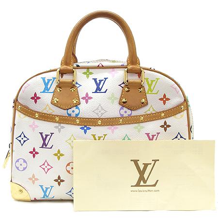 Louis Vuitton(루이비통) M92663 모노그램 멀티 화이트 트루빌 토트백 이미지2 - 고이비토 중고명품