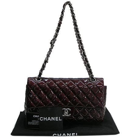 Chanel(샤넬) 페이던트 클래식 M사이즈 은장 체인 숄더백