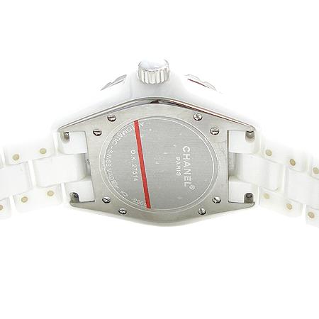 Chanel(샤넬) H0970 오토매틱 J12 화이트세라믹 38MM 남성용 시계