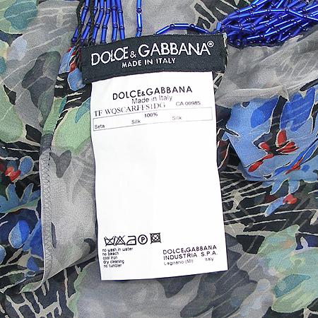 D&G(돌체&가바나) FS1DG 80809 100% 실크 스카프 이미지2 - 고이비토 중고명품