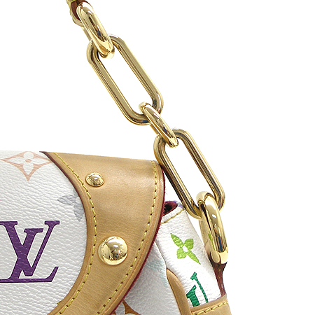 Louis Vuitton(루이비통) M40203 모노그램 멀티 컬러 화이트 비버리 MM 숄더백