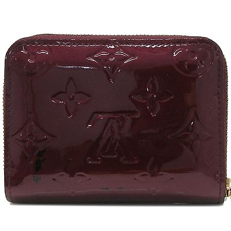 Louis Vuitton(루이비통) M91534 모노그램 베르니 라우지 포비스트 지피코인퍼스 카드동전 지갑 [명동매장]