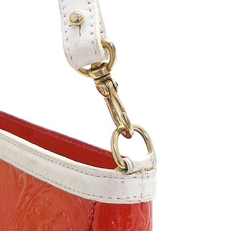Etro(에트로) 18449 금장 로고 장식 페이즐리 패턴 레드 애나멜 숄더백 [강남본점] 이미지3 - 고이비토 중고명품