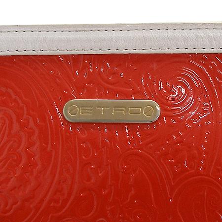 Etro(에트로) 18449 금장 로고 장식 페이즐리 패턴 레드 애나멜 숄더백 [강남본점] 이미지5 - 고이비토 중고명품