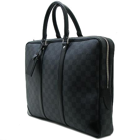 Louis Vuitton(루이비통) N41125 다미에 그라피트 캔버스 포르테 다큐먼트 보야지 서류 토트백 이미지3 - 고이비토 중고명품