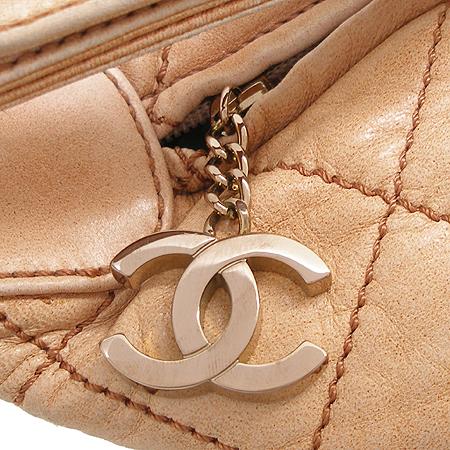 Chanel(샤넬) 퀄팅 빈티지 래더 숄더백
