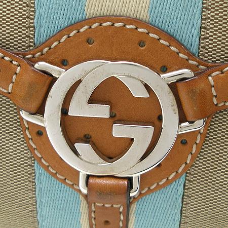 Gucci(구찌) 114877 은장 로고 삼선 스티치 장식 숄더백 이미지4 - 고이비토 중고명품