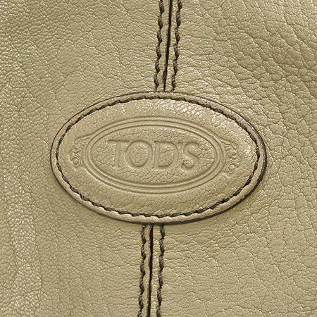 Tod's(토즈) 베이지 컬러 래더 숄더백[인천점]