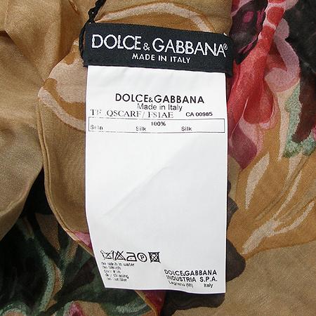 D&G(돌체&가바나) FS1AE X0802 100% 실크 스카프