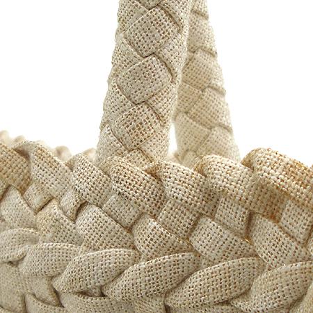 Giorgio Armani (조르지오 알마니) 캔버스 우븐 패턴 쇼퍼 숄더백