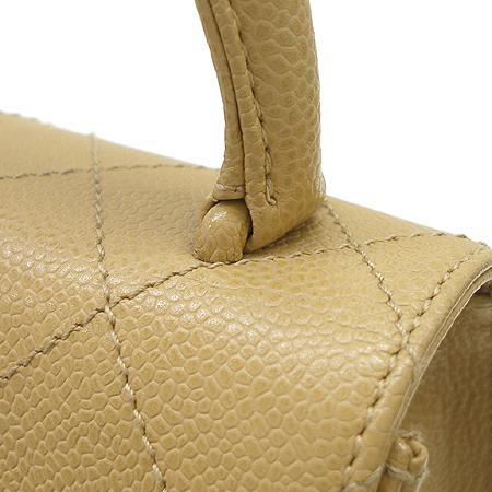 Chanel(샤넬) 캐비어 스킨 마뜨라쎄 퀄팅 사각 토트백