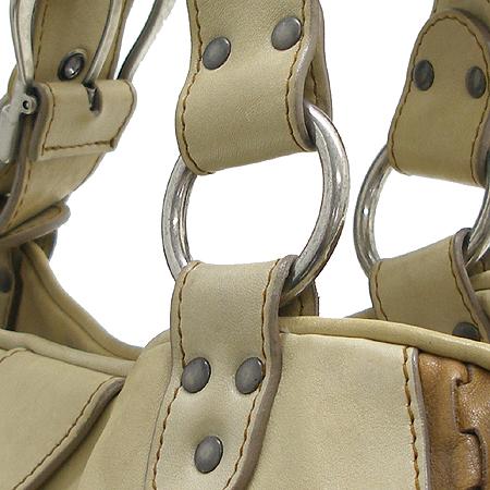 Dior(크리스챤디올) WAC44924 베이지 래더 빈티지 가우쵸 토트백