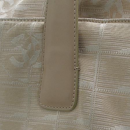 Chanel(샤넬) 베이지 컬러 뉴 트레블 라인 패브릭 빅 숄더백 [동대문점]
