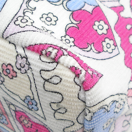 EMILIO PUCCI(에밀리오 푸치) 핑크 패브릭 문양 장식 패턴 미니 토트백 이미지5 - 고이비토 중고명품