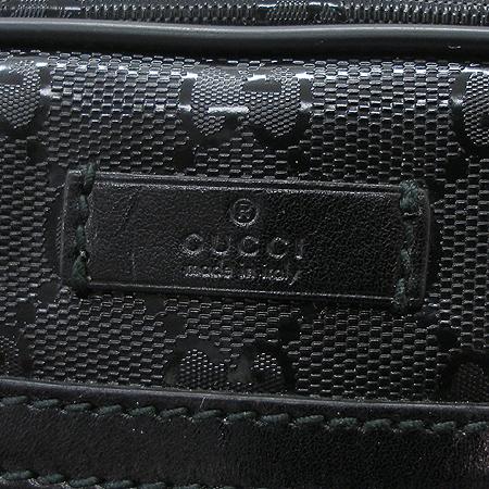 Gucci(구찌) 201448 GG로고 PVC 코팅메탈 블랙트리밍 크로스백 [명동매장]