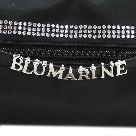 Blumarine(블루마린) C573002 GA5730 블랙 패브릭 이니셜 큐빅장식 숄더 겸 토트백 이미지5 - 고이비토 중고명품