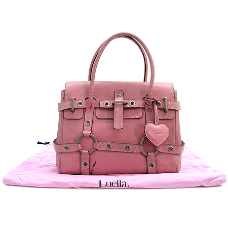 LUELLA(루엘라) 핑크 래더 지젤 토트백