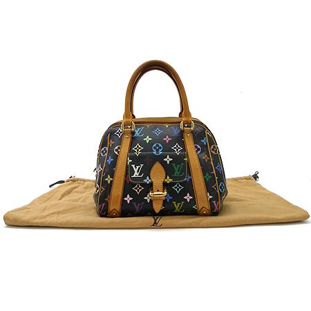 Louis Vuitton(루이비통) M40097 모노그램 멀티 컬러 블랙 프리실라 토트백 이미지2 - 고이비토 중고명품