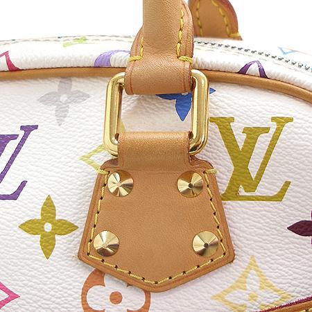 Louis Vuitton(루이비통) M92663 모노그램 멀티 화이트 트루빌 토트백