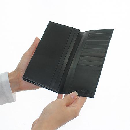 Ferragamo(페라가모) 66 5057 블랙 레더 장지갑