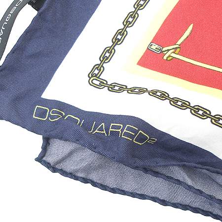 DSQUARED2 (디스퀘어드2) 100%SILK 스카프